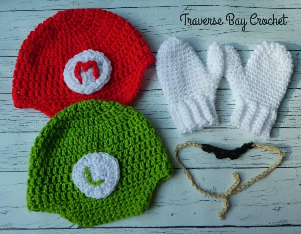 Mario and Luigi hat e767d44b582