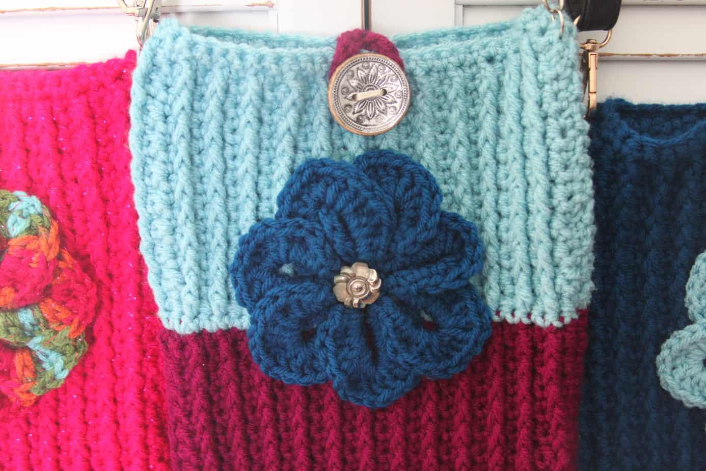 crochet crossbody bag free pattern