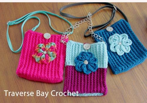 crochet cross body bag free pattern