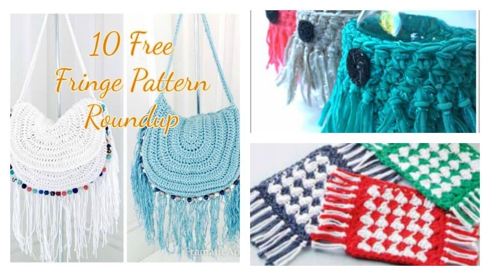crochet fringe free pattern