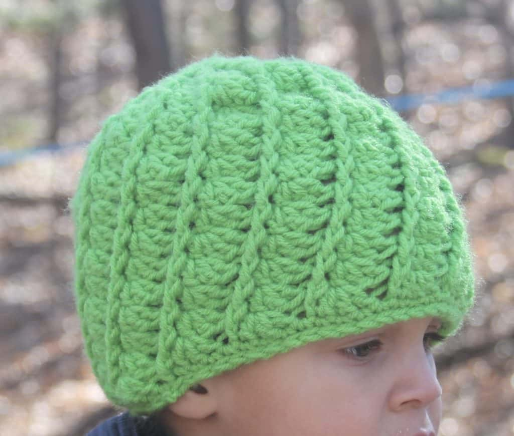 crochet spiral hat free pattern