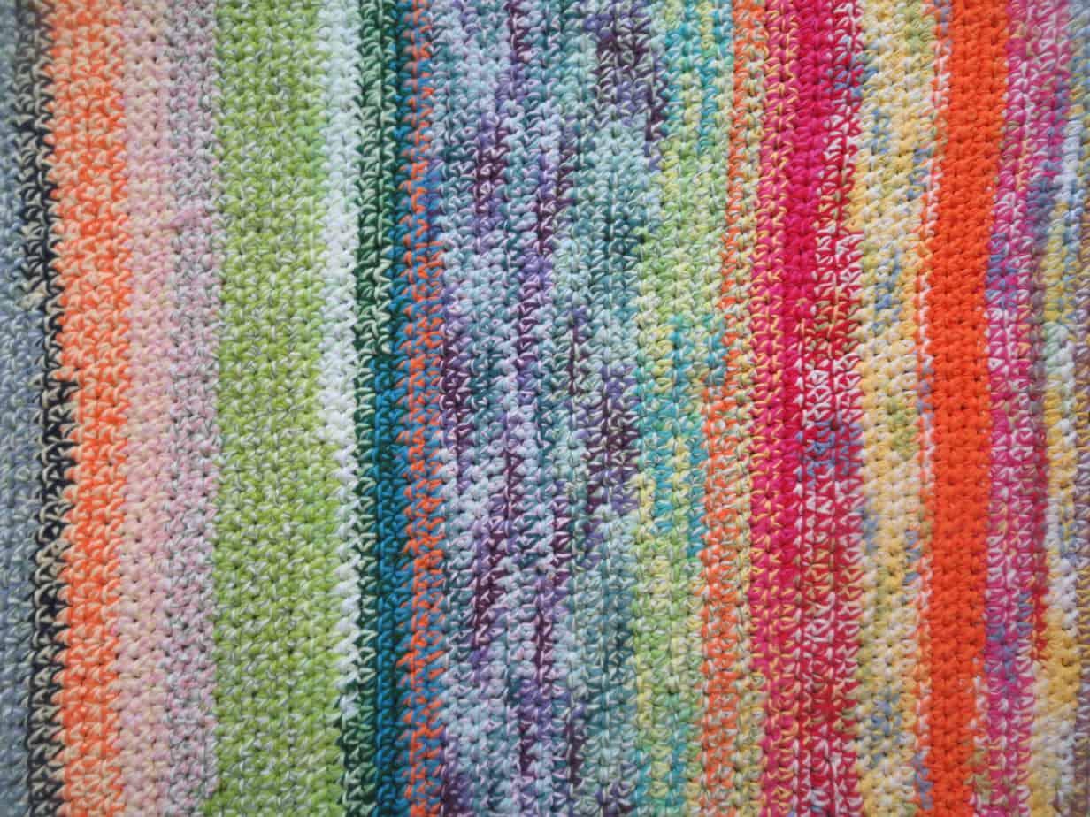 Easy Crochet S Yarn Rug
