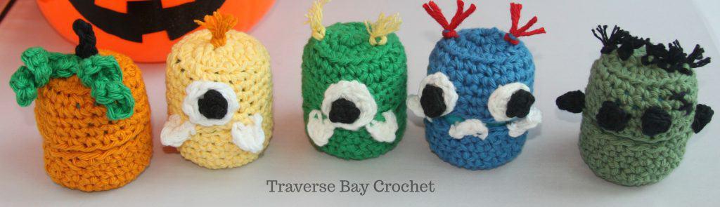 crochet Halloween monsters free pattern
