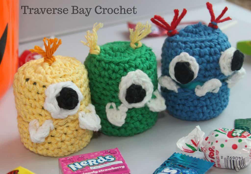 crochet treat holders free pattern