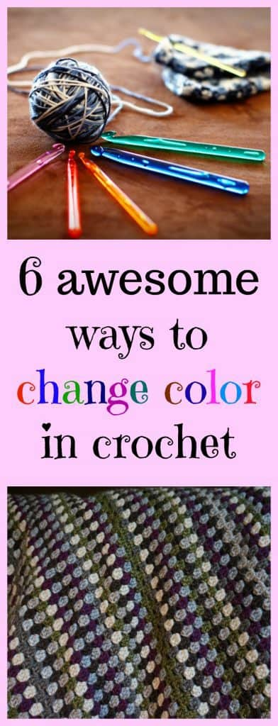 change color crochet