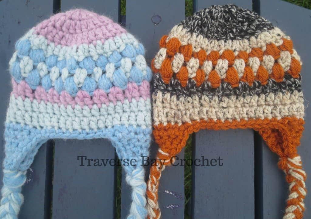 crochet baby earflap hat free pattern