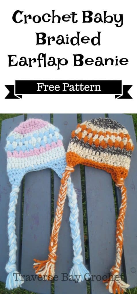 crochet baby earflap hat freep attern