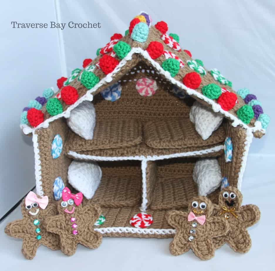 crochet gingerbread playhouse free pattern