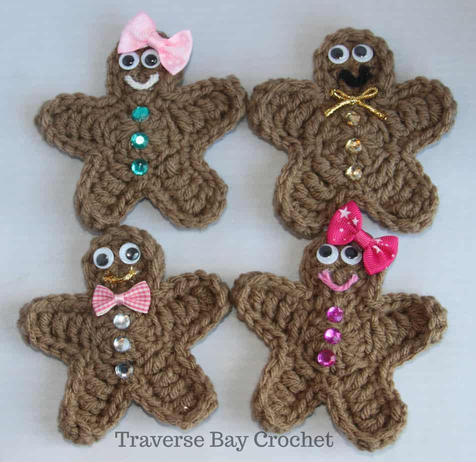 crochet gingerbread free pattern