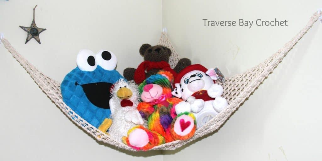 crochet toy storage free pattern