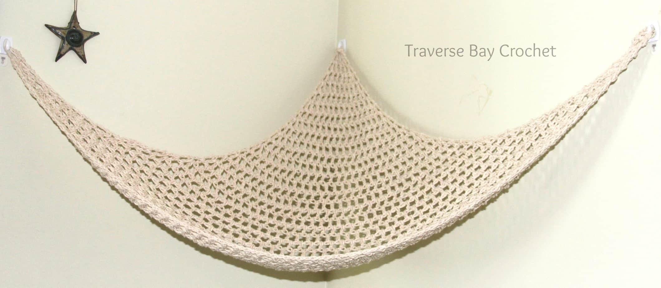 crochet net hammock free pattern