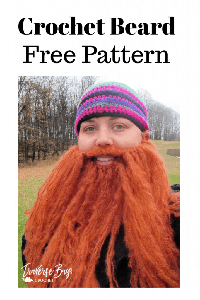 crochet beard free pattern