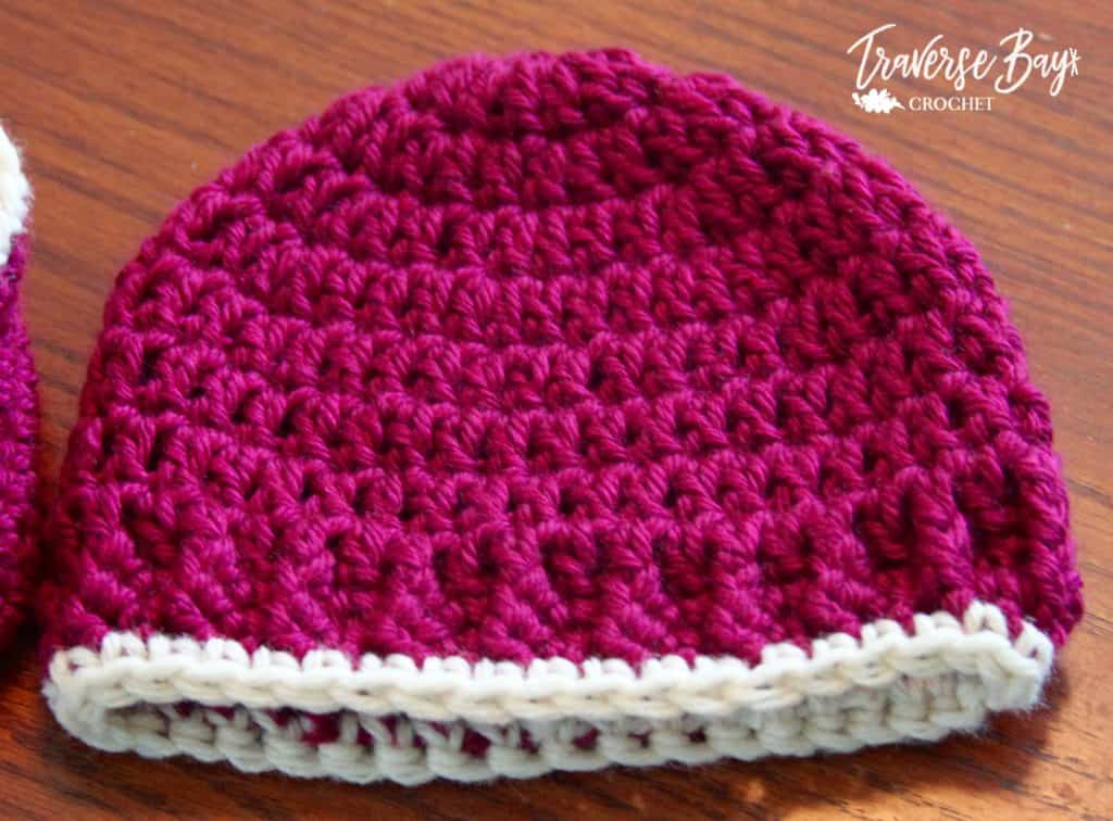 easy crochet baby hat free pattern