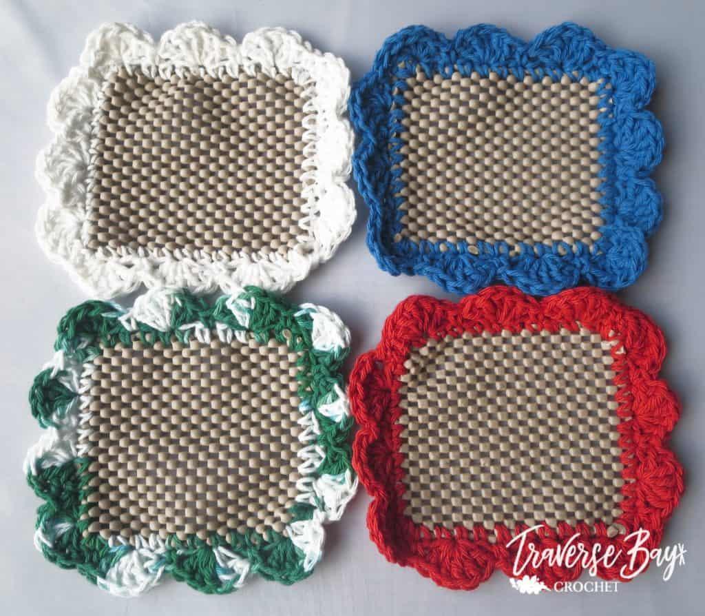 crochet jar lid openers