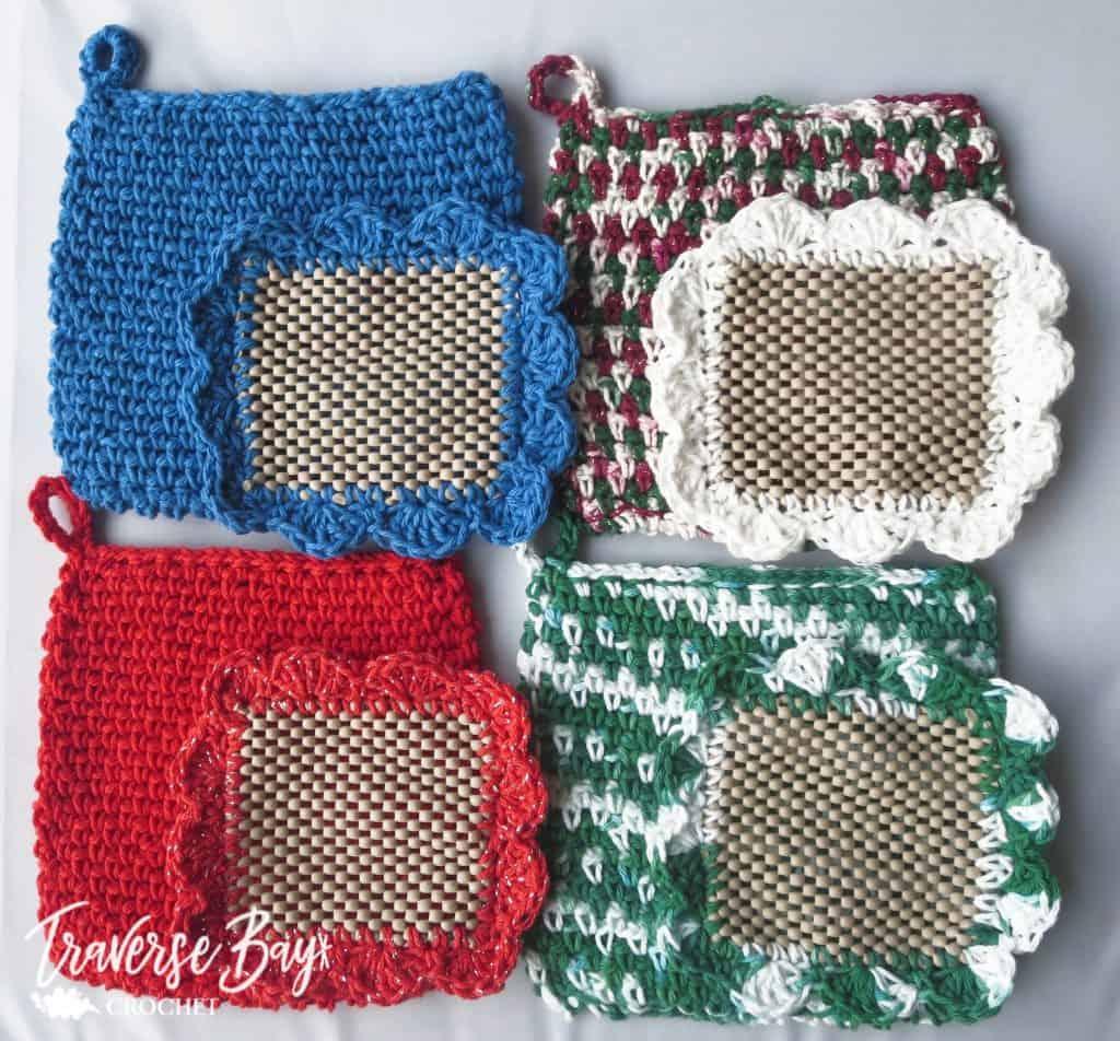 crochet jar lid opener free pattern
