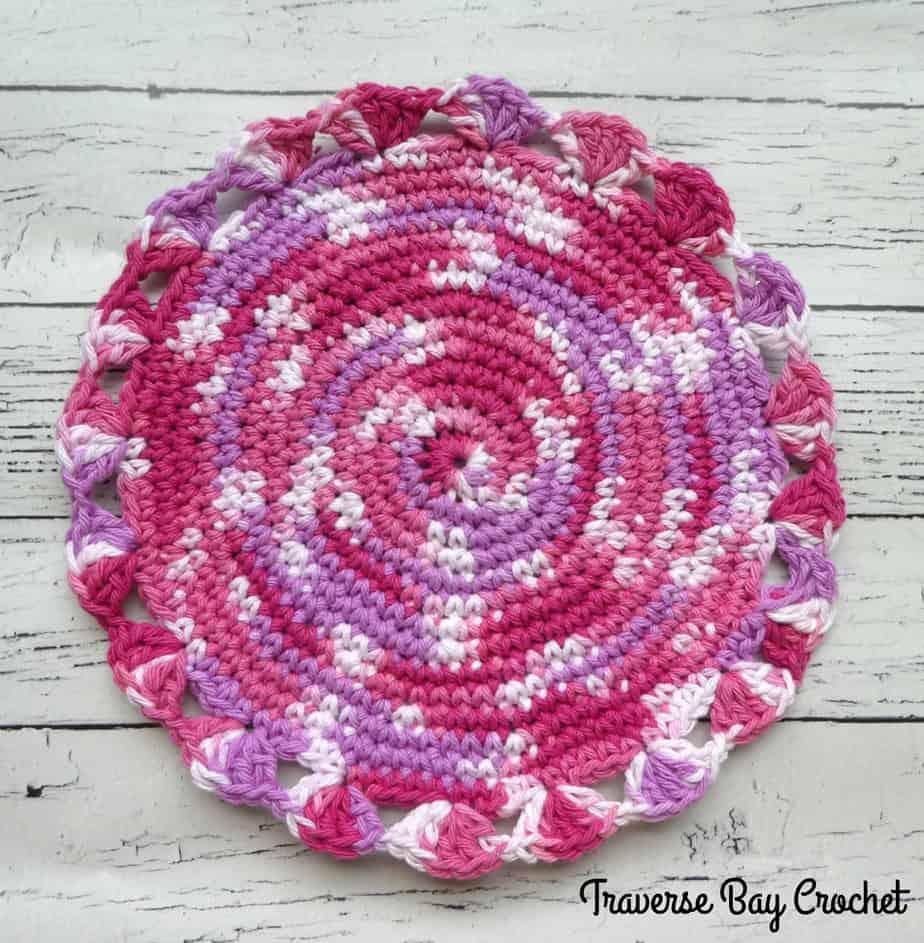 crochet centerpiece free pattern
