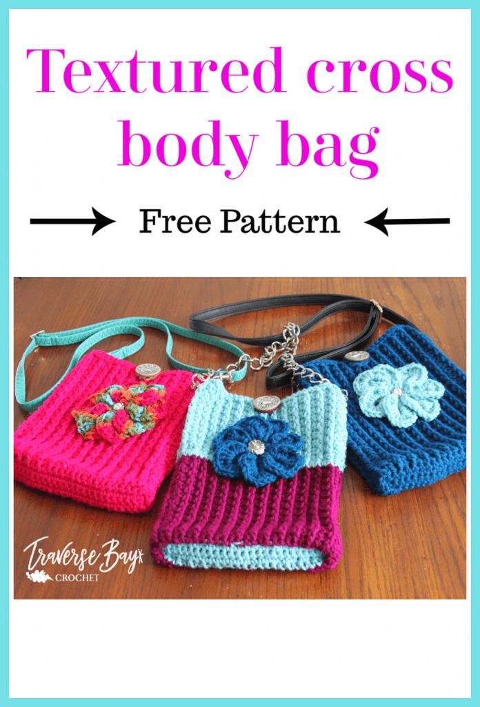 crochet cross body purse free pattern