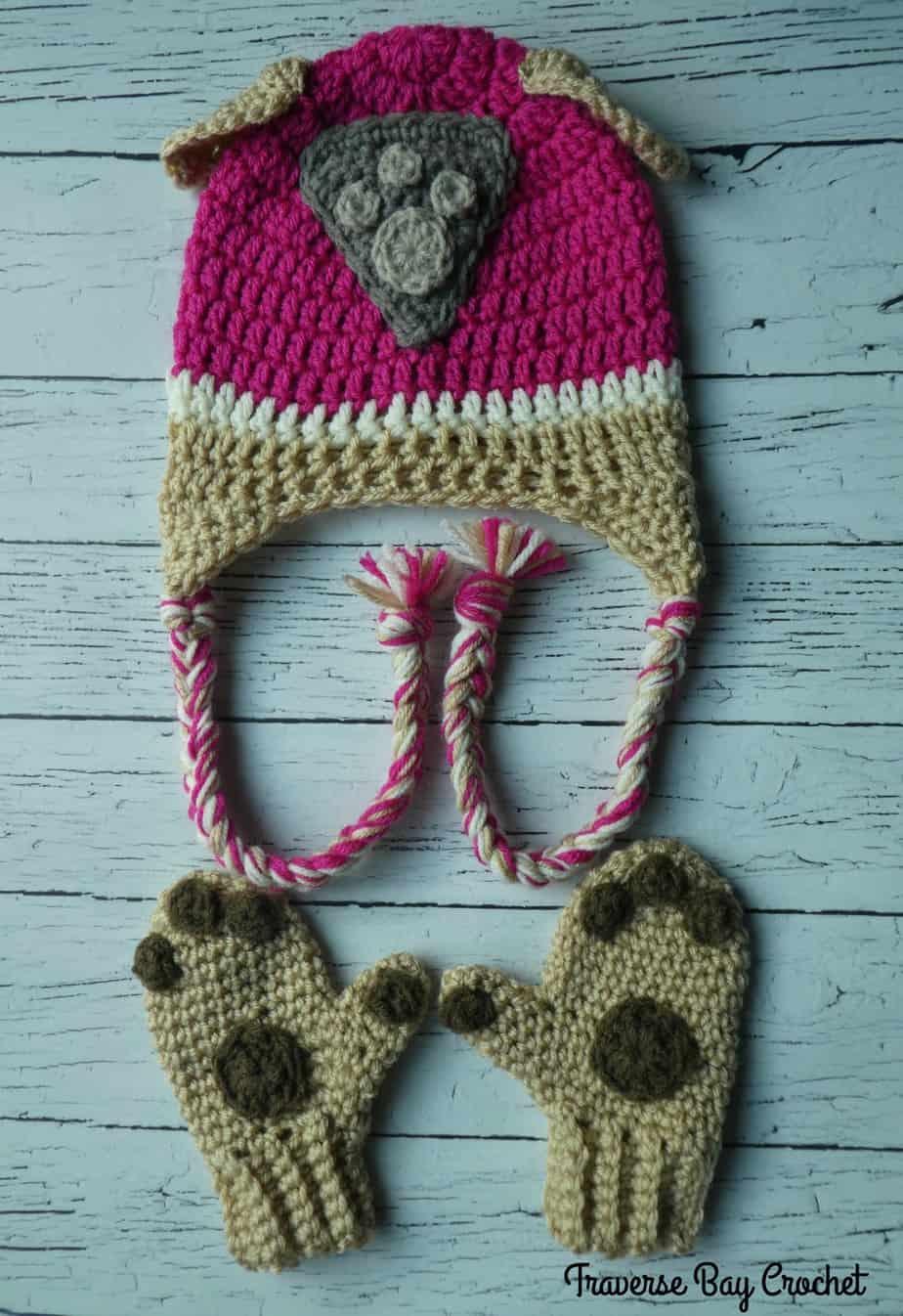 crochet skye paw patrol hat free pattern