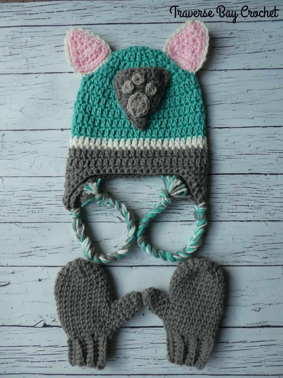crochet everest hat free pattern