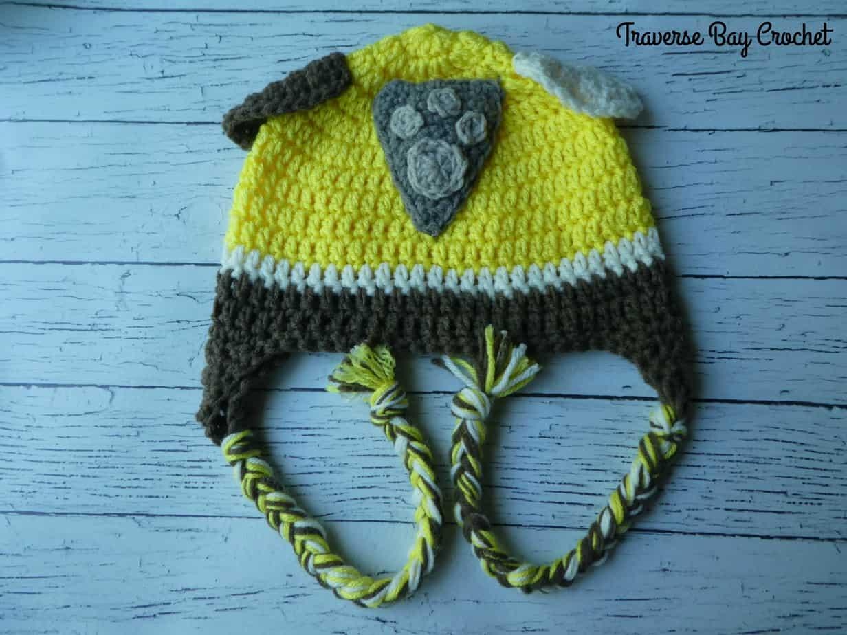crochet paw patrol rubble hat free pattern
