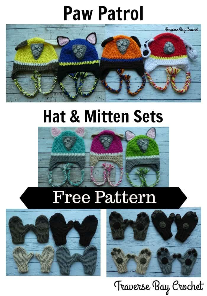 crochet paw patrol hat free pattern