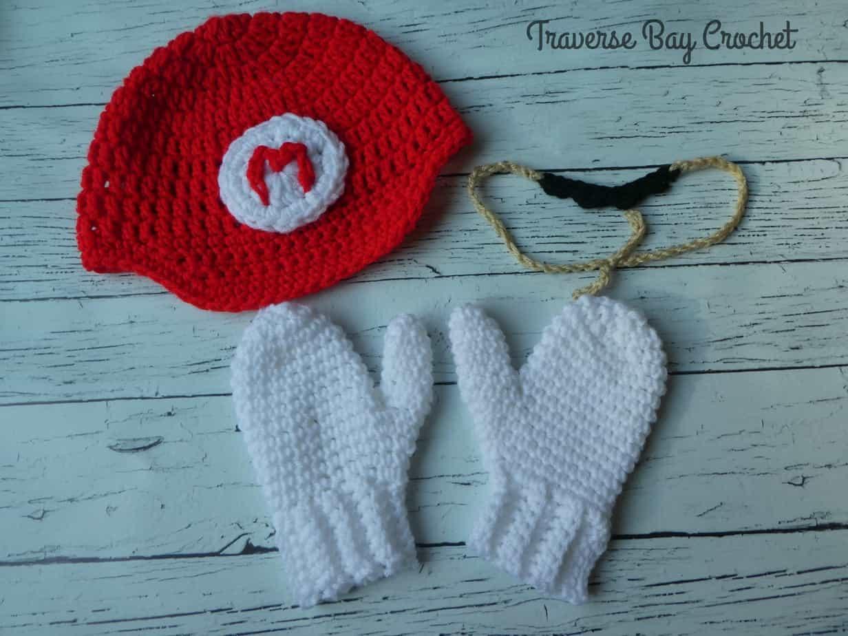 crochet mario hat free pattern
