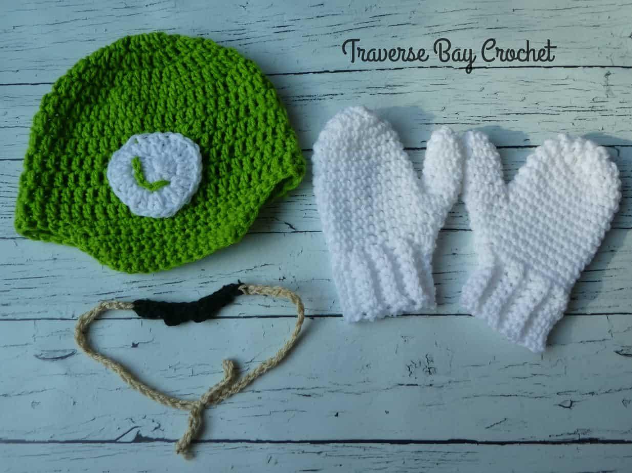 crochet luigi hat free pattern