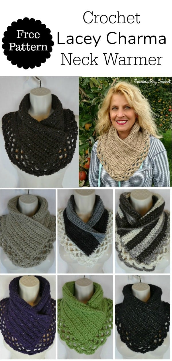 crochet neck warmer free pattern