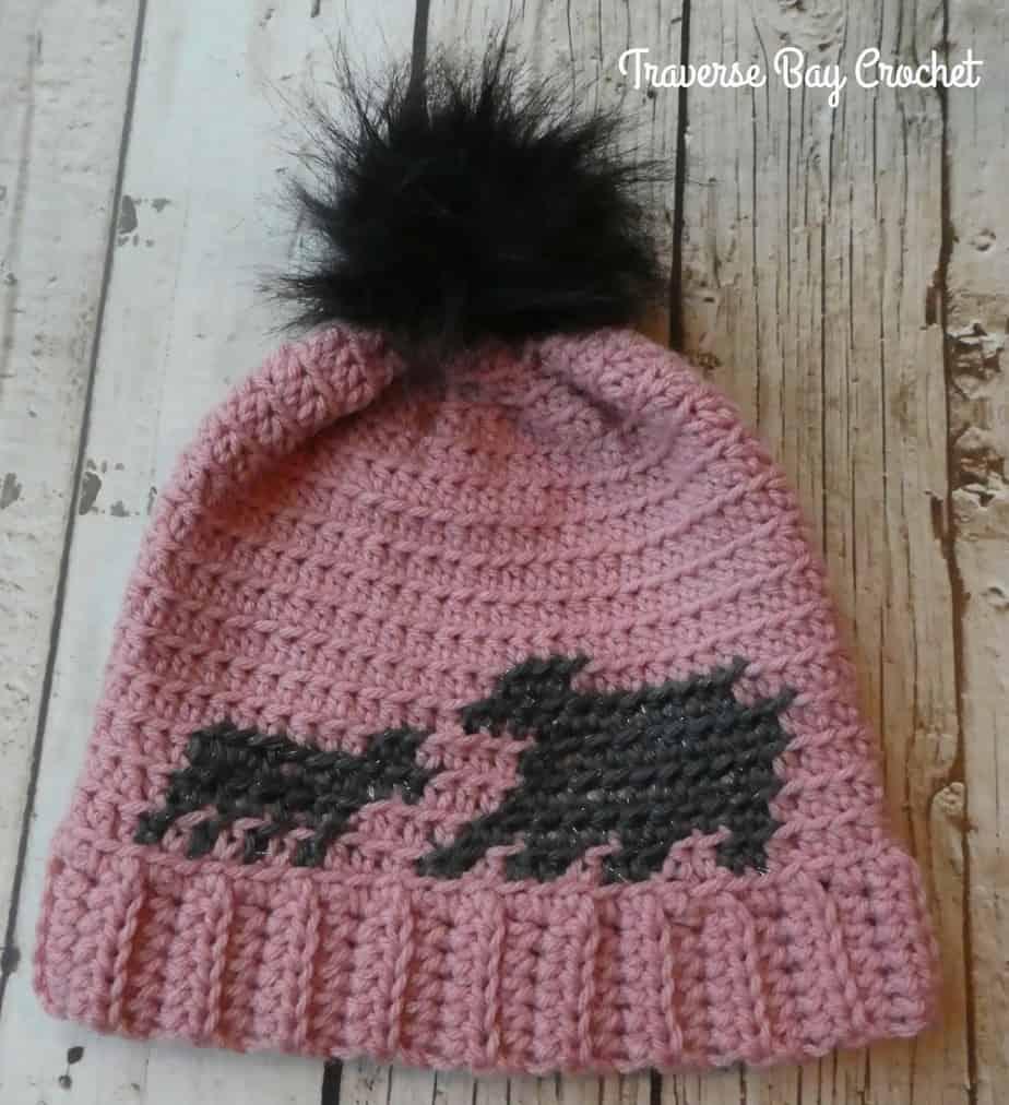 mama bear crochet hat free pattern