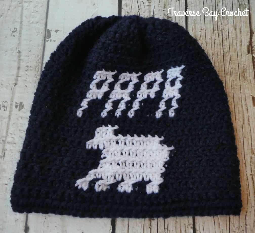 crochet papa bear hat free pattern