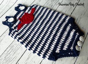 crochet baby romper free pattern