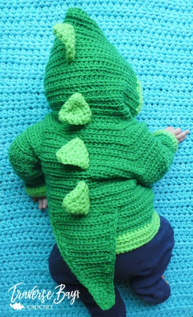 crochet dinosaur baby free pattern