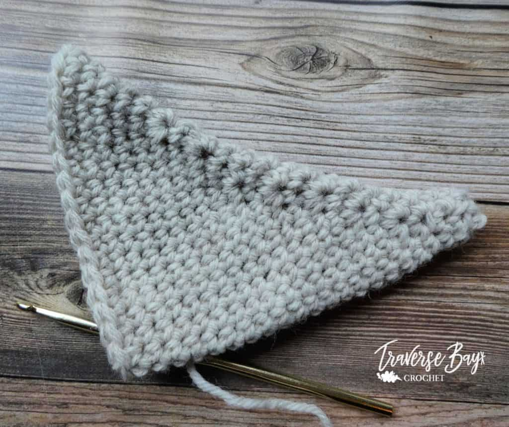 crochet horns free pattern