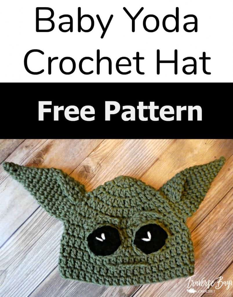 crochet baby yoda hat free pattern