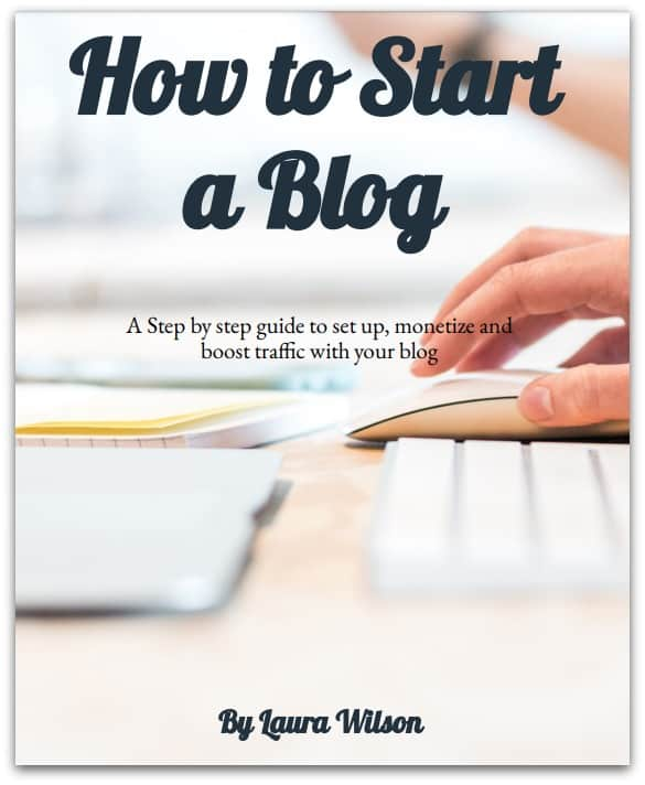 how to start a blog ebook.