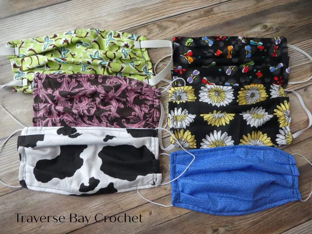face mask free pattern