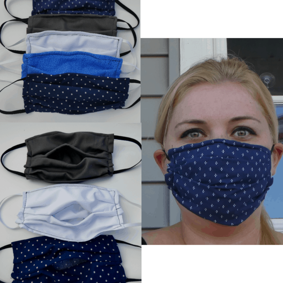 Medical Sewn Face Mask Pattern With Filter Pocket And Nose Guard Free Pattern And Video Traversebaycrochet Com