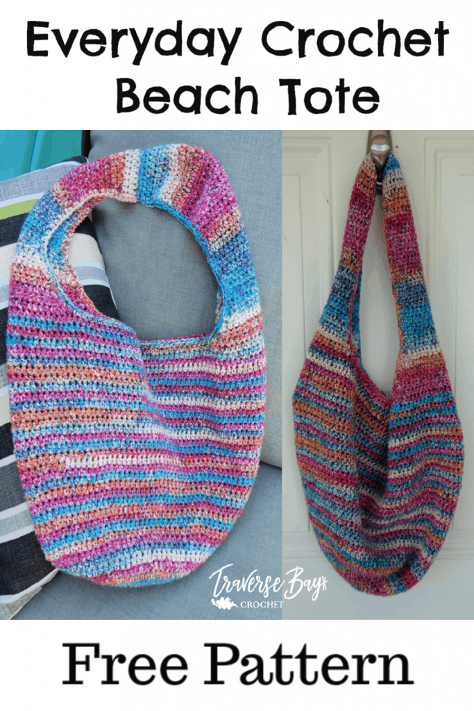crochet tote free pattern