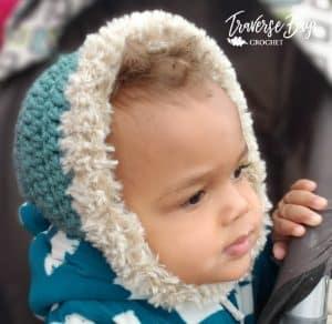 crochet bonnet free pattern
