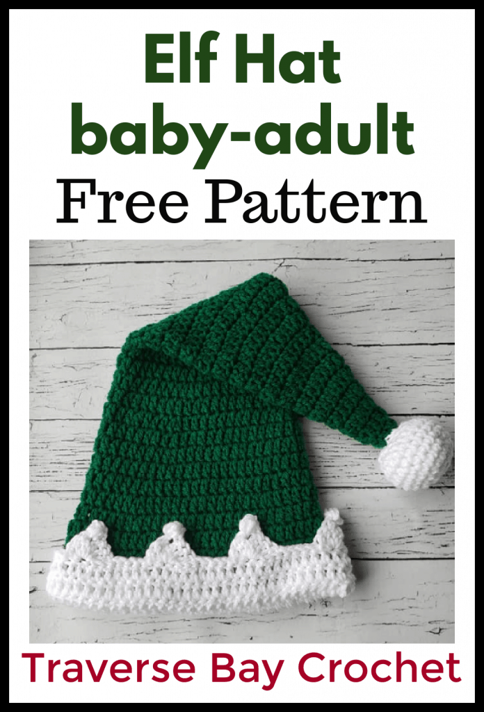 crochet baby elf hat free pattern