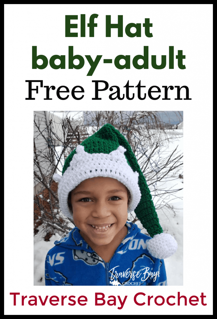 crochet elf hat free pattern