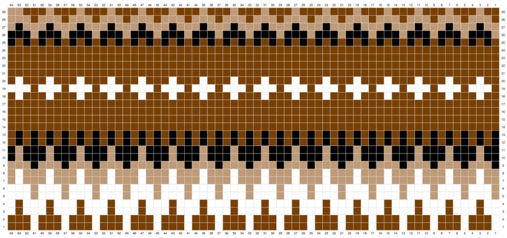 Crochet Bernie Beanie Chart
