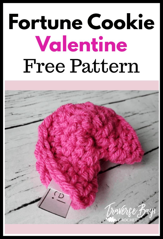 crochet fortune cookies free pattern