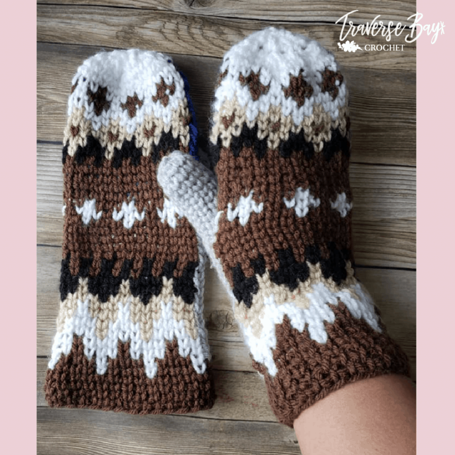 Crochet Bernie Mittens