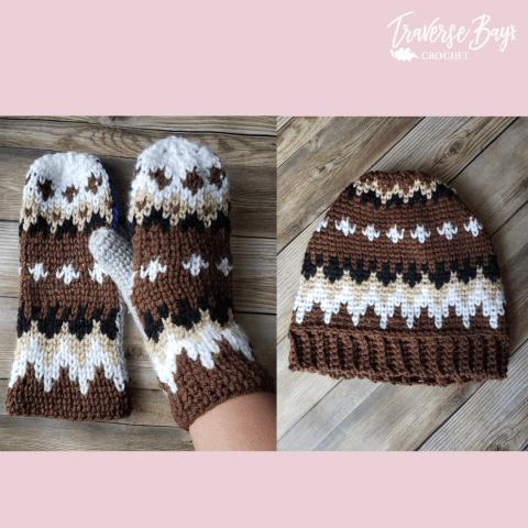 Crochet Bernie beanie free pattern