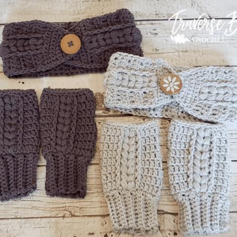 crochet braided headband pattern